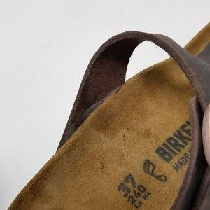 Birkenstock Shoes - Birkenstock Gizeh Leather Thong Sandals EUR 37